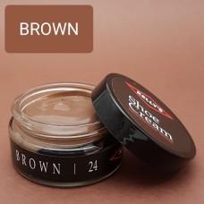 Крем для изделий из гладких кож Kelly's Shoe Cream - 42.5 гр. BROWN.