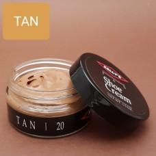Крем для изделий из гладких кож Kelly's Shoe Cream - 42.5 гр. TAN.