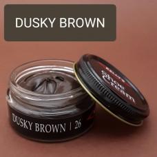 Крем для изделий из гладких кож Kelly's Shoe Cream - 42.5 гр. DUSKY BROWN.