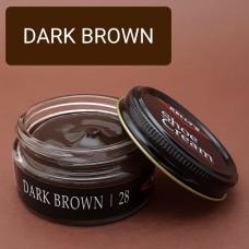 Крем для изделий из гладких кож Kelly's Shoe Cream - 42.5 гр. DARK BROWN.