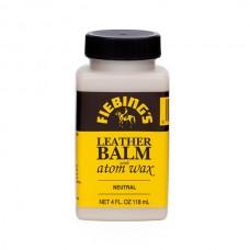 Финиш для кожи с эффектом бальзама самополирующийся Fiebing's Leather Balm with atom wax 118 гр. Цвет нейтральный.
