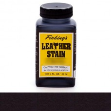 Краска для кожи проникающая на основе льняного масла - Fiebing's Leather Stain. 118 мл.  цвет - Black