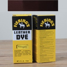 Краска для кожи проникающая - Fiebings Leather Dye. 118 мл. Цвет - Regular mahogany.