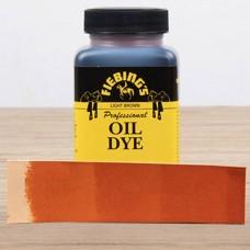 Краска для кожи проникающая - Fiebing's Professional Oil Dye. 118 мл. цвет - Light Brown.