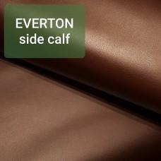 Кожа теленок EVERTON side calf сорт 1 цвет тёмно-коричневый 82х36 см. IL VELIERO.