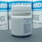 Краска для уреза кожи GIARDINI MAXEDGE Pro 50 гр. матовый белый.