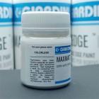 Краска для уреза кожи GIARDINI MAXMATT 50 гр. EXTRA-MATTE TOPCOAT топ для уреза бесцветный.
