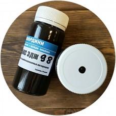 Краска для уреза кожи полиуретановая Джиардини МАКС ЭДЖ цвет тёмно-коричневый матовый 100 гр. Giardini MAXEDGE PRO.