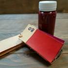 Краска для кожи кремообразная воскосодержащая Джиардини МАКС КРАФТ красный 100 гр.
