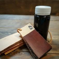 Краска для кожи кремообразная воскосодержащая Джиардини МАКС КРАФТ светло-коричневый 100 гр.