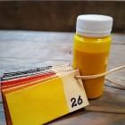 Краска для кожи кремообразная воскосодержащая Джиардини МАКС КРАФТ жёлтый 100 гр.