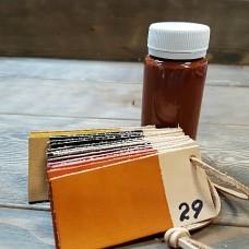 Краска для кожи кремообразная воскосодержащая Джиардини МАКС КРАФТ оранжевый 100 гр.