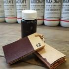 Краска для кожи кремообразная воскосодержащая Джиардини МАКС КРАФТ тёмно-красный 100 гр.