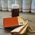 Краска для кожи Giardini MAXCRAFT 100 гр. оранжевый.
