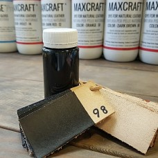 Краска для кожи Giardini MAXCRAFT 100 гр. тёмно-коричневый.