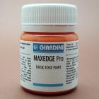Краска для уреза кожи GIARDINI MAXEDGE Pro 50 гр. матовый оранжевый.