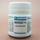 Краска для уреза кожи GIARDINI MAXEDGE Pro 40 гр. матовый белый.