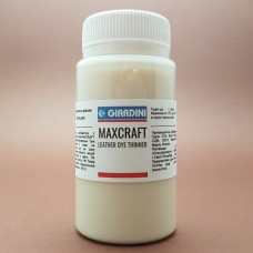 Краска для кожи GIARDINI MAXCRAFT 100 гр. LEATHER DYE THINNER разбавитель для краски.
