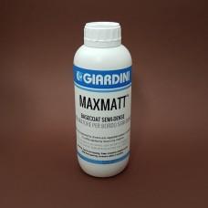 Грунт для уреза кожи GIARDINI MAXMATT 1 литр. BASECOAT SEMI-DENSE горочкой, бесцветный, среднегустой.