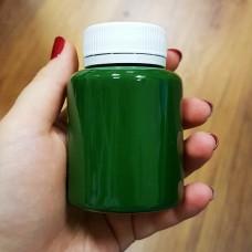 Краска для уреза кожи Girba S.R.L. - NUBIO - 100 гр. в розлив. Цвет - LEAF GREEN OPACO, матовая.