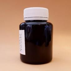 Краска для уреза кожи Girba S.R.L. - NUBIO - 100 гр. в розлив. Цвет - NERO OPACO, матовая.