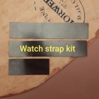 Кожа Horween Shell Cordovan набор для часового ремешка со шлёвкой из 3-х предметов, цвет #8.