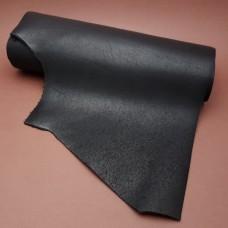 Кожа  Horween Essex РМД отрез со стороной 30 см. чёрный. 30х90х90 см.
