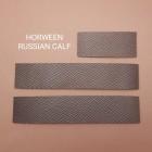 Кожа КРС Horween Russian calf (cuir de Russie) набор для часового ремешка со шлёвкой из 3-х предметов.