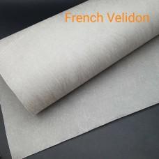 Дублирующий материал для кожи  -  нетканое ультрапрочное усиление FRENCH VELIDON 50х100 см.