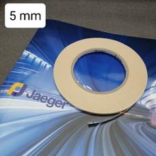Трансфер для кожи JAEGER экстрасильной фиксации для вклейки молний 50 м. х 5 мм.