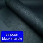 Дублирующий материал для кожи  -  нетканое усиление FRENCH VELODON 50х100 см. чёрный.
