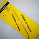 Иглы для кожи - набор из 3  игл для шитья кожи (Weaving Needles). John James.