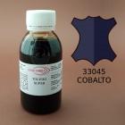 Краска для кожи жидкая TOLEDO SUPER с анилиновым эффектом 100 мл. синий кобальт.