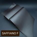 Кожа галантерейная КРС 1 сорт, сафьяно MIMI шоколадный цвет 1.4 мм. 21х95 см.