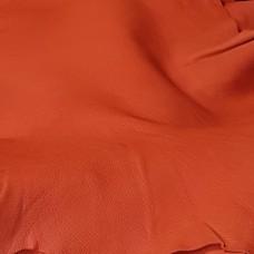 Кожа галантерейная CONCERIA ANTIBA 1 сорт, шевро оранжевый 1.5 мм. 48 кв.дец.