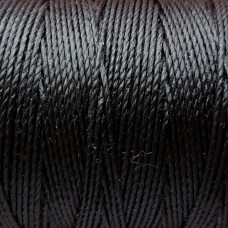 Нитки для кожи японские VINYMOс двойным вощением 90 метров, размер #0, цвет коричневый.