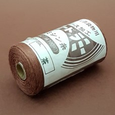 Нитки для шитья кожи, традиционные японские РАМИ-ЭКО вощёные - 150 метров №20/3. Терракота.
