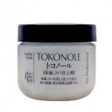 Химия для кожи - паста  для полировки уреза Seiwa TOKONOLE GUM 120 гр. Прозрачный.