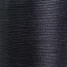 Нитки для кожи льняные MeiSi Super Fine MS001 (Black) M40 = 0.45 мм. 90 м.