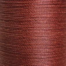 Нитки для кожи льняные MeiSi Super Fine MS003 (Brown) M50 = 0.55 мм. 80 м.