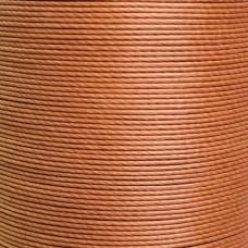 Нитки для кожи льняные MeiSi Super Fine MS004 (Caramel) M40 = 0.45 мм. 90 м.
