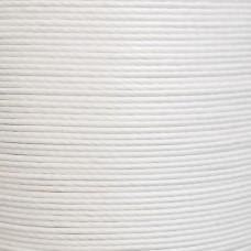 Нитки для кожи льняные MeiSi Super Fine MS007 (White) M40 = 0.45 мм. 90 м.