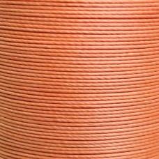 Нитки для кожи льняные MeiSi Super Fine MS015 (Tanqerine) M40 = 0.45 мм. 90 м.
