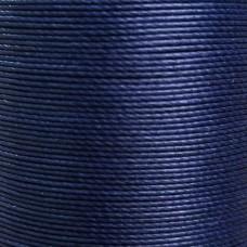 Нитки для кожи льняные MeiSi Super Fine MS019 (Navy Blue) M40 = 0.45 мм. 90 м.