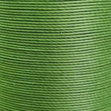 Нитки для кожи льняные MeiSi Super Fine MS027 (Grass Green) M40 = 0.45 мм. 90 м.