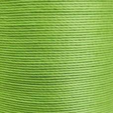 Нитки для кожи льняные MeiSi Super Fine MS028 (Apple Green) M40 = 0.45 мм. 90 м.
