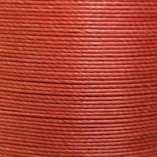 Нитки для кожи льняные MeiSi Super Fine MS052 (Rust Red) M40 = 0.45 мм. 90 м.