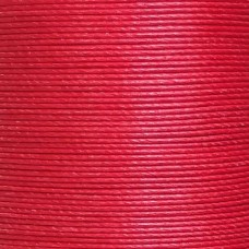Нитки для кожи льняные MeiSi Super Fine MS053 (Bright Red) M40 = 0.45 мм. 90 м.
