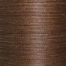 Нитки для кожи льняные MeiSi Super Fine MS063 (Mocha) M40 = 0.45 мм. 90 м.