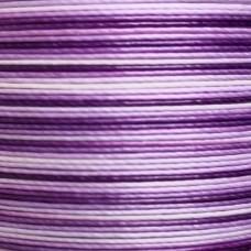 Нитки для кожи льняные MeiSi Super Fine MS070 (Gradient Purple) M40 = 0.45 мм. 90 м.
